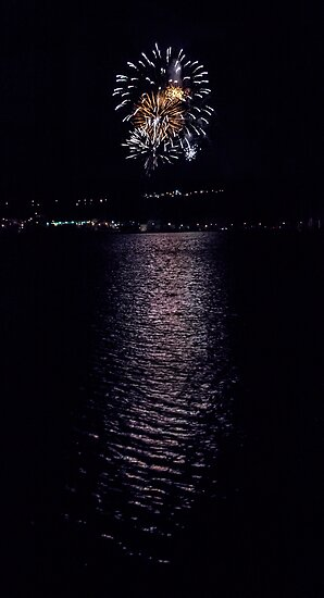 Fireworks over Quidi Vidi by thegDesigns