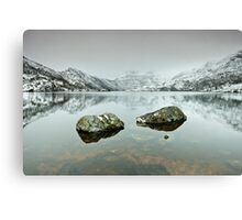 Those Rocks Canvas Print
