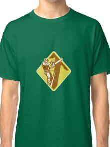 Tree Surgeon Arborist Chainsaw Retro Classic T-Shirt