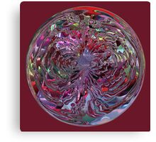 Watery Ball Canvas Print