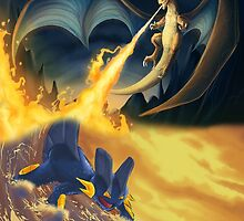 Charizard & Swampert by Jrwalker55