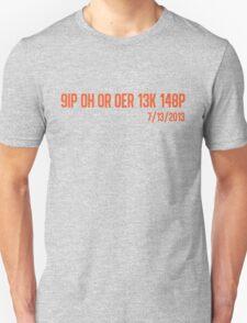 Freak No Hitter (Orange) Unisex T-Shirt
