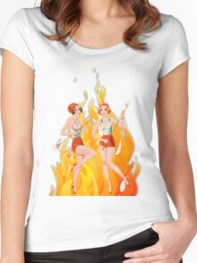 Hell's Belles! Women's Fitted Scoop T-Shirt