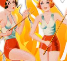 Hell's Belles! Sticker
