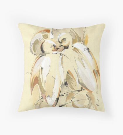 I am with You! Throw Pillow