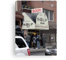 Seinfeld Soup Man NYC Metal Print