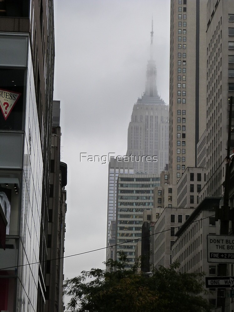 Sneaky Empire State Building NYC by FangFeatures