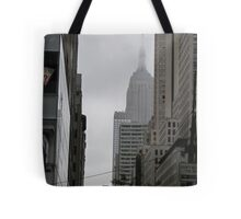 Sneaky Empire State Building NYC Tote Bag