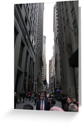 Wall Street, NYC by FangFeatures