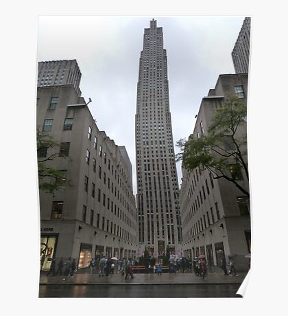 NYC Skyscraper Poster