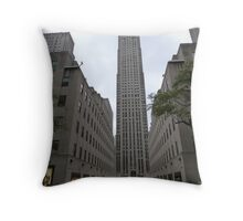 NYC Skyscraper Throw Pillow
