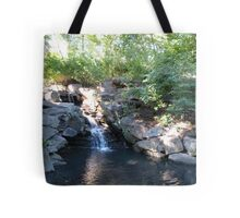 Waterfall, Central Park, NYC Tote Bag