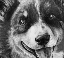 Dog Portrait Commission 2 Sticker