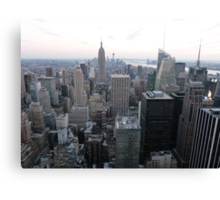 NYC View Canvas Print