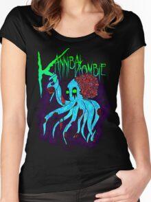 """Kannibal Zombie"" Zokto Shirt Women's Fitted Scoop T-Shirt"