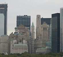NYC Skyscrapers by FangFeatures