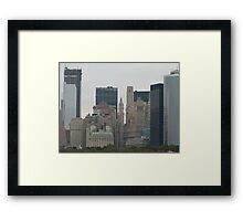 NYC Skyscrapers Framed Print