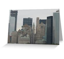 NYC Skyscrapers Greeting Card