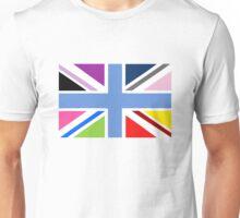 Rainbow Union Jack Unisex T-Shirt