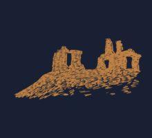 Sandal Castle - Tan by CourtneyAnne82