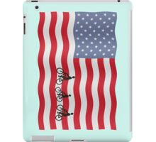Cycling USA iPad Case/Skin