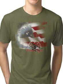 american flyer Tri-blend T-Shirt