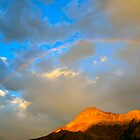 Waterton Rainbow by Luann wilslef