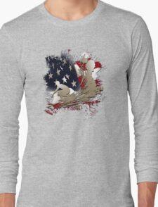 american surf Long Sleeve T-Shirt