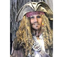 Captain Jack Sparrow Pirates Of The Caribbean Photographic Print