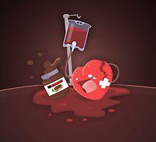 Broken heart needs chocolate by TICS
