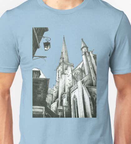 St. Malo Cathedral Unisex T-Shirt