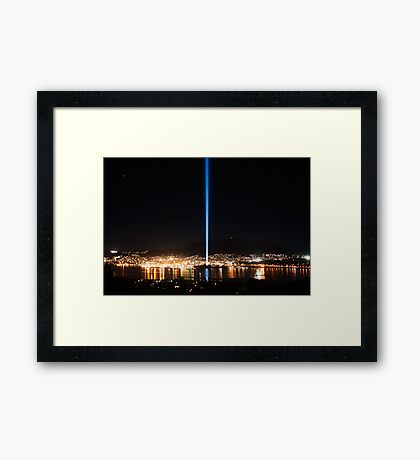 Hobart and DARK MOFO Framed Print