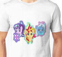 Unicorn Trio Unisex T-Shirt