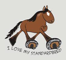 Standardbred (light bay) by Diana-Lee Saville