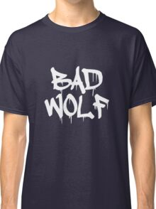 Bad Wolf #1 - White Classic T-Shirt