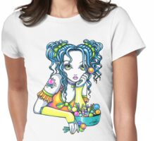 Alisha Rainbow Candy Fairy Womens Fitted T-Shirt