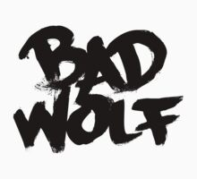 Bad Wolf #2 - Black by slitheenplanet