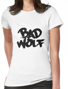 Bad Wolf #2 - Black Womens Fitted T-Shirt