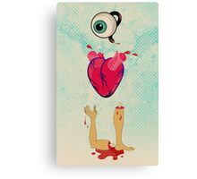 Eye Heart U Canvas Print