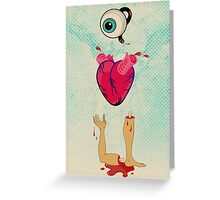 Eye Heart U Greeting Card