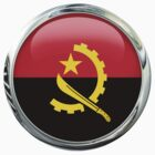 Angola Flag by 3Dflags