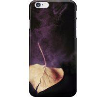 the world in a leaf iPhone Case/Skin