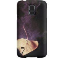 the world in a leaf Samsung Galaxy Case/Skin