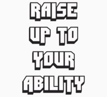 Foster The People - Raise Up To Your Ability Baby Tee