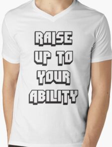 Foster The People - Raise Up To Your Ability Mens V-Neck T-Shirt