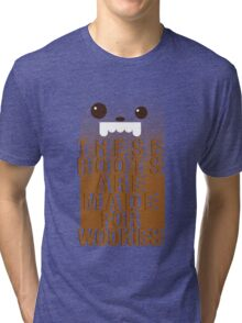 Boots for Wookies Tri-blend T-Shirt