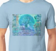 Inspirational Quote by Rumi  Unisex T-Shirt