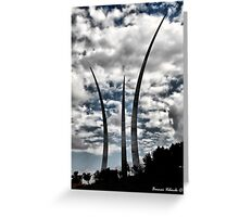 Air Force Memorial Greeting Card