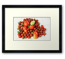 Fresh From The Vine ♥ Framed Print