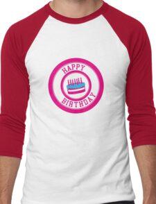Happy Birthday Men's Baseball ¾ T-Shirt